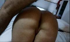 Coroa rabuda no sexo anal
