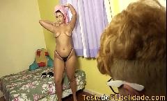 Pegando  a namorada gostosa do meu Tio ( Paloma Capriche )