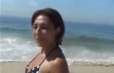 Fudi minha tia depois da praia